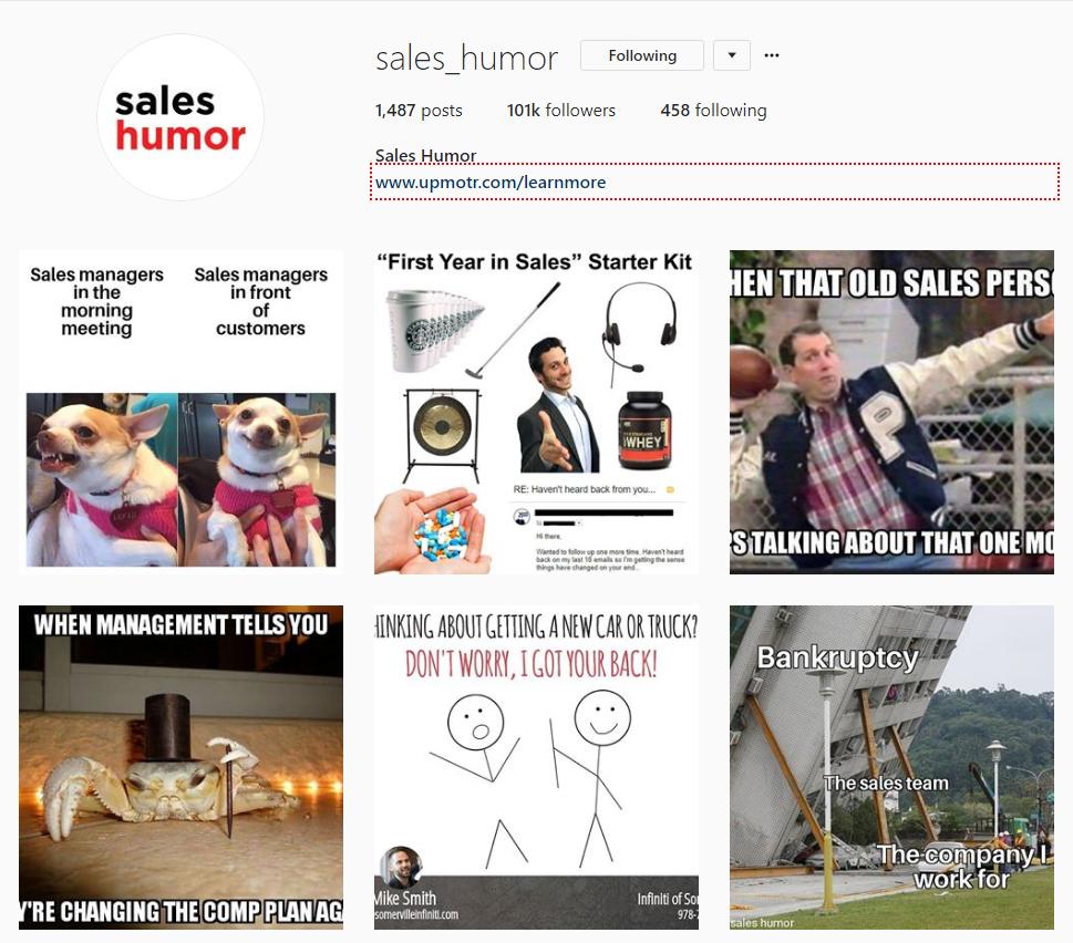 sales humor