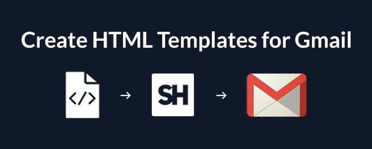 How To Create And Send HTML Email Template In Gmail - Send email html template