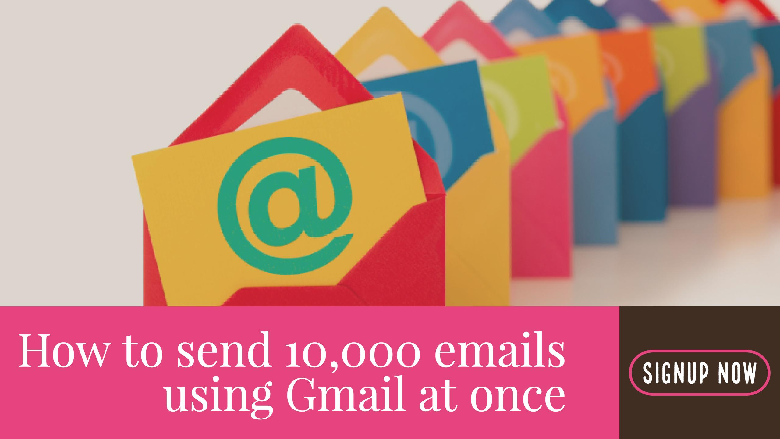 Send 10000 Emails At Once Using Saleshandy Updated 2018