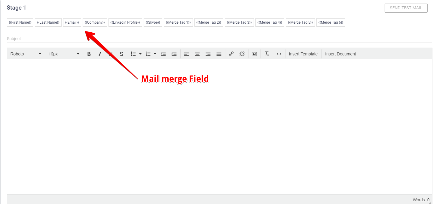 Send Personalized Emails In Gmail Using Mail Merge - Send mail template