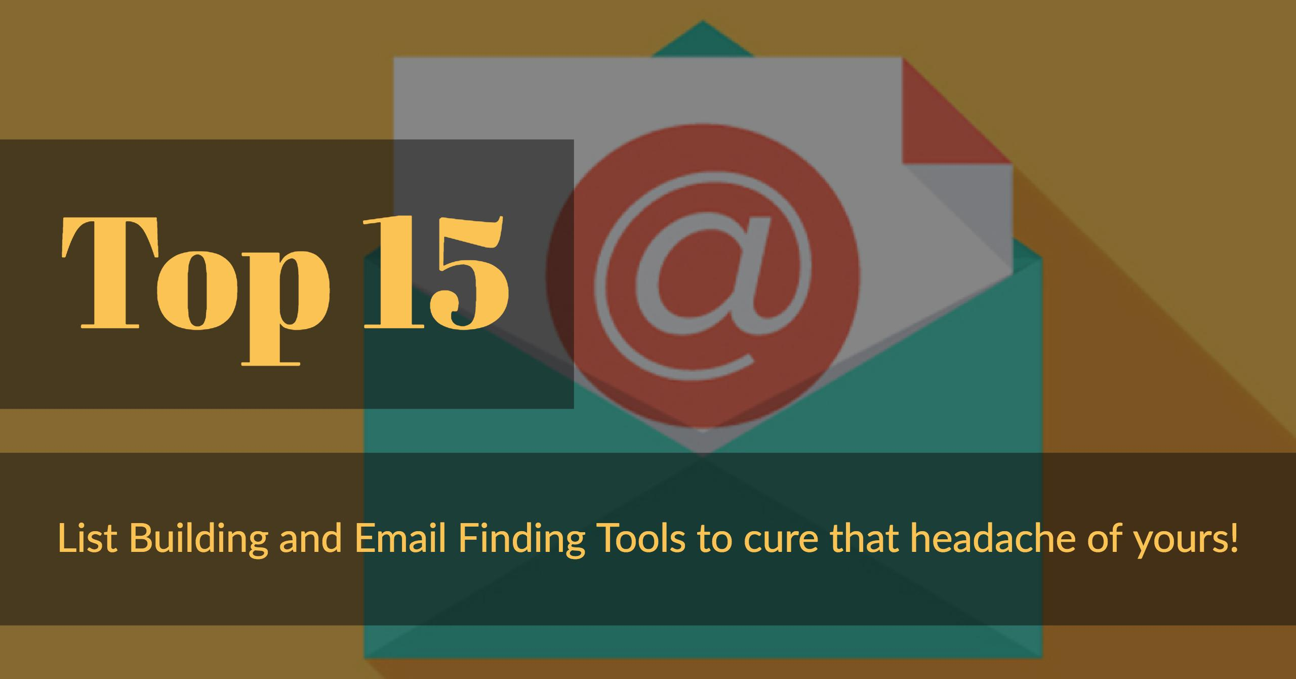 15 Best Email Finding Tools to Check Out in 2019 (Updated)