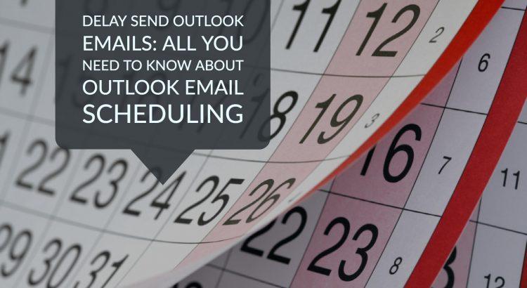 delay send outlook
