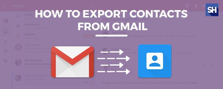 How to Export Contacts from Gmail