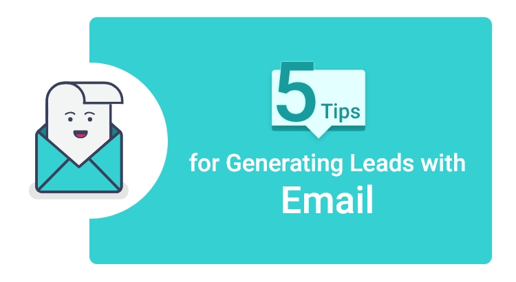 generating leads with email