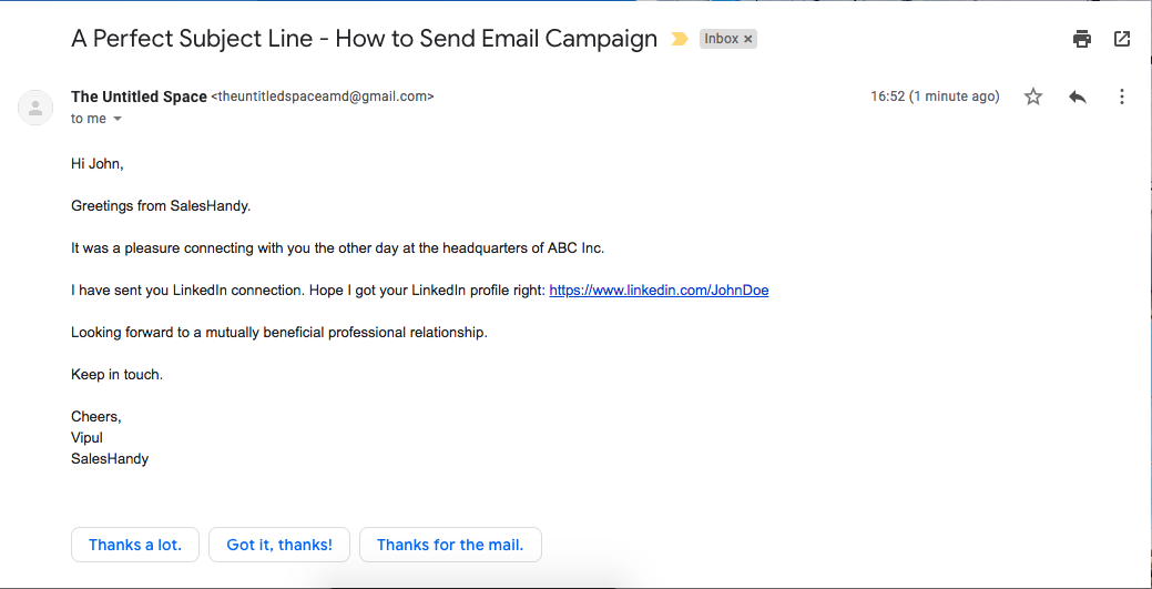 Perfect subject line to send email campaigns