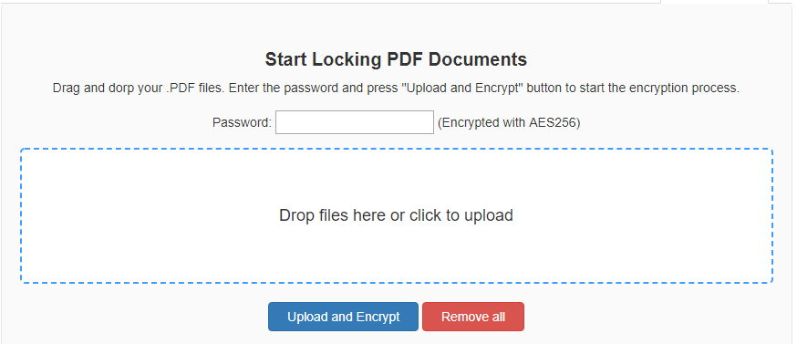How to Password Protect a PDF Online