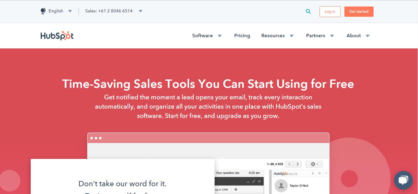 HubSpot-Sales
