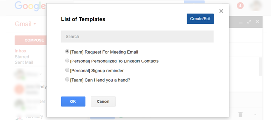 Email Templates With In Gmail