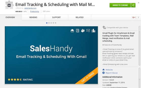 email tracking chrome extension