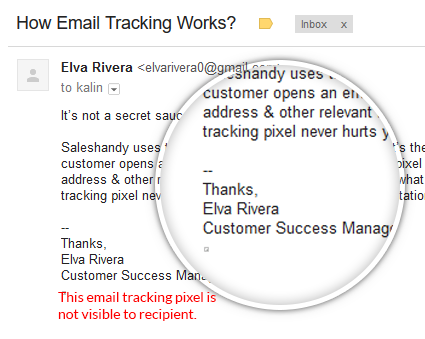 how email tracking gmail works