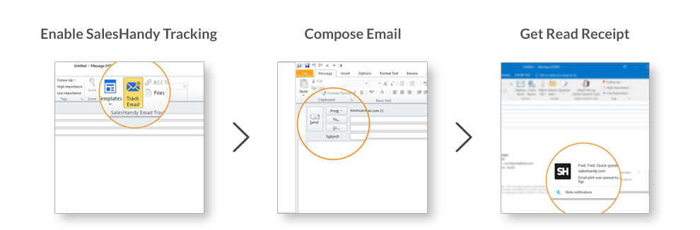 Outlook Read Receipt Process